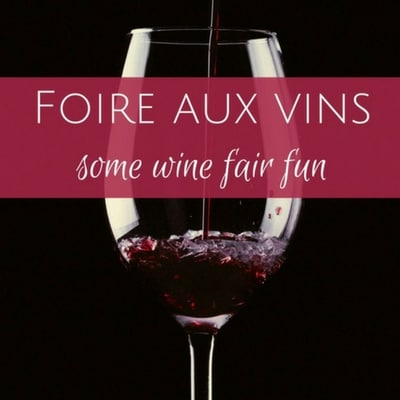 A visit to my local foire aux vins