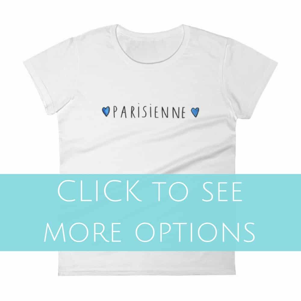 francophile designs t-shirts