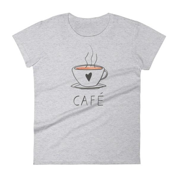 francophile coffee tshirt