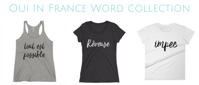 Oui In France Word collection