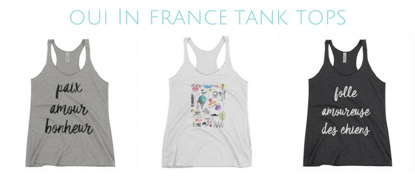 oui In france tank tops