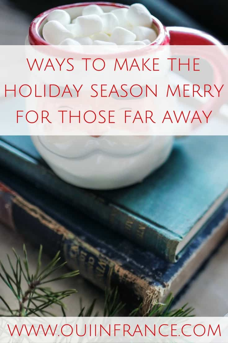 Little ways to make the holiday season merry for someone who lives far away