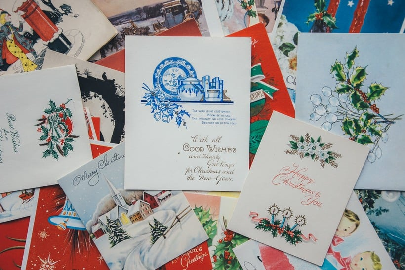 christmas cards for loved ones abroad