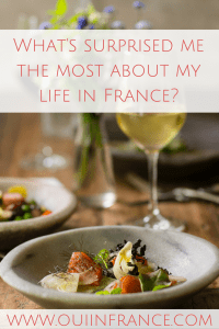 what's surprised me about living in france