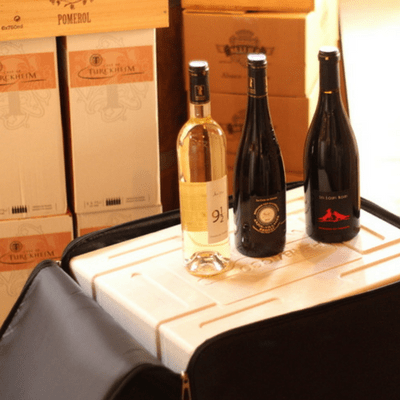 Wine suitcase checked luggage: How to bring wine on a plane