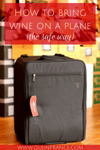 wine suitcase how to bring wine on a plane