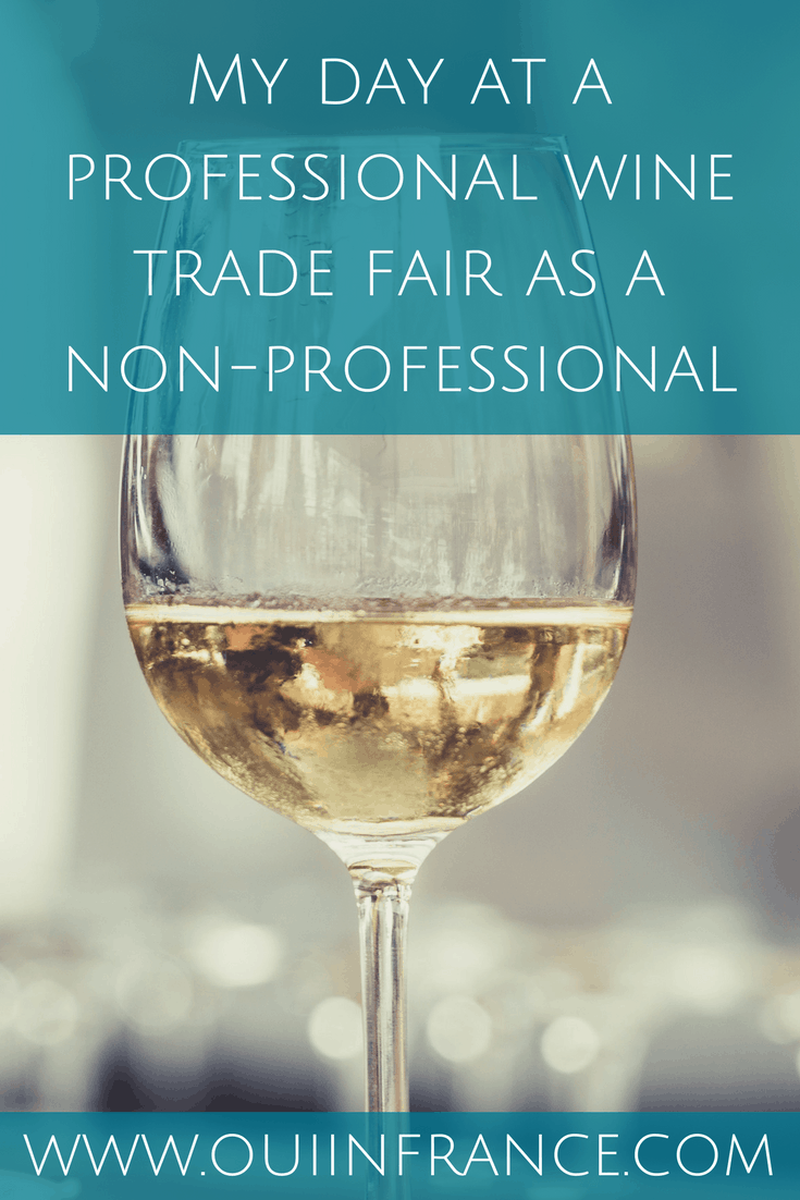 My day at a professional wine trade fair as a non-professional