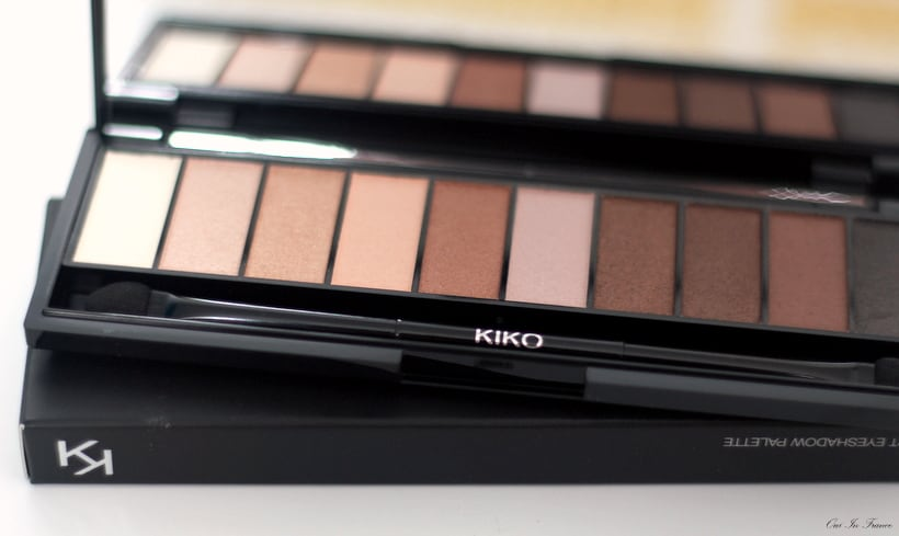 kiko makeup review eyeshadow palette