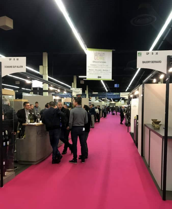 Salon des vins de loire my day at a professional wine - Salon des vins ampuis ...