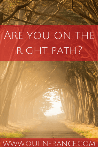 how do you know if you're on the right path