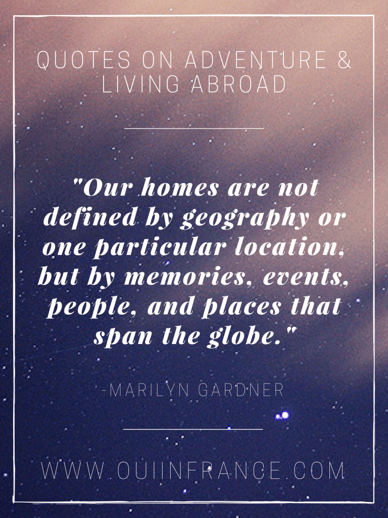 quote on living abroad