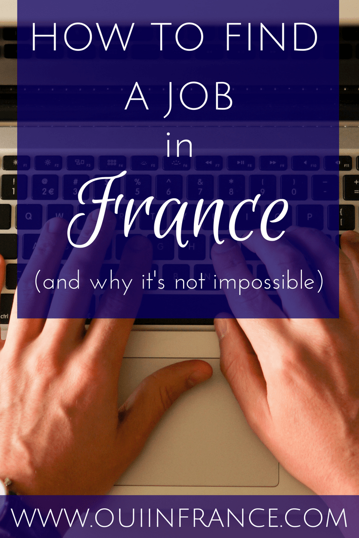 how to find a job in france