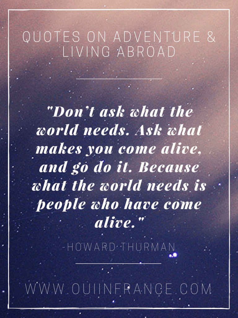 quotes about living abroad
