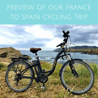 Preview of our France to Spain cycling trip (Facebook Lives)