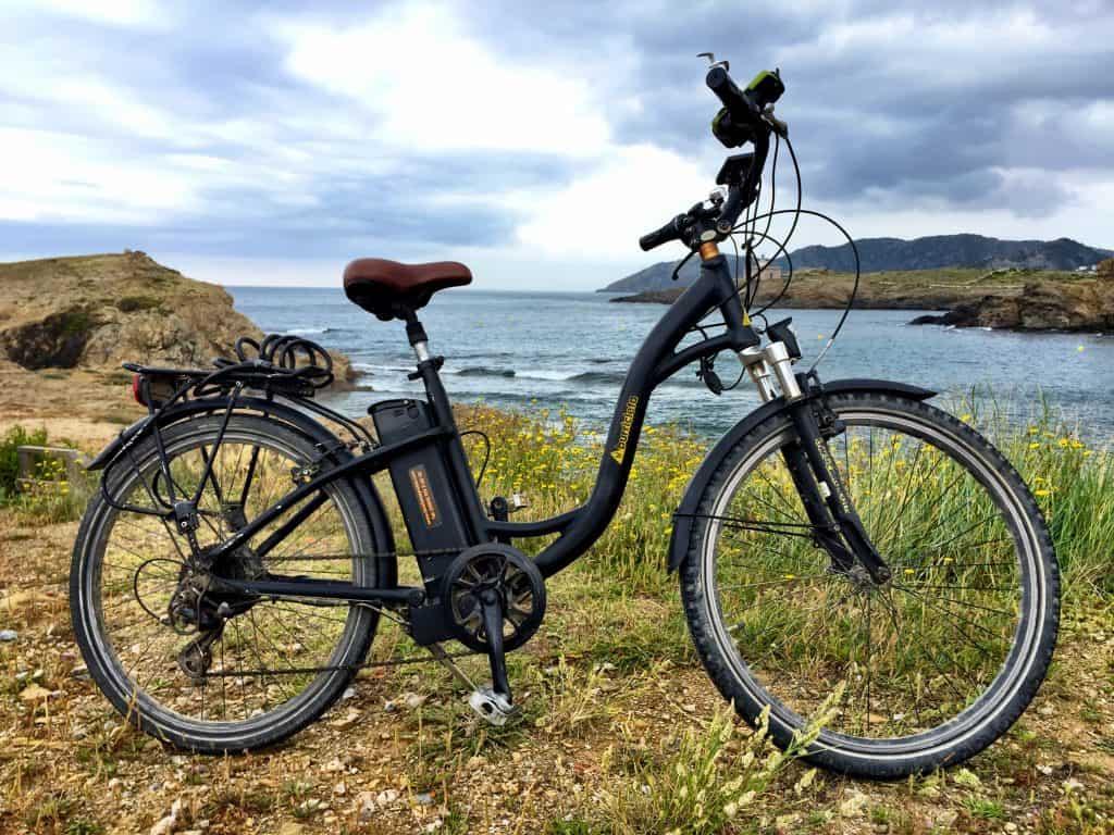 electric bike cycling tour france spain