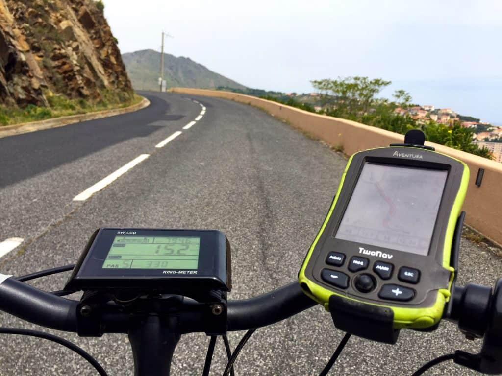 e-bike gps