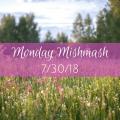 monday mishmash 7/30/18