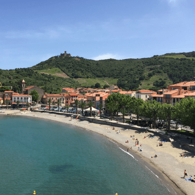 collioure france view