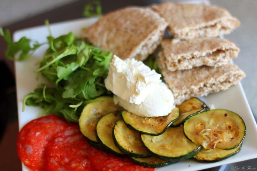 illico fresco meal pita zucchini