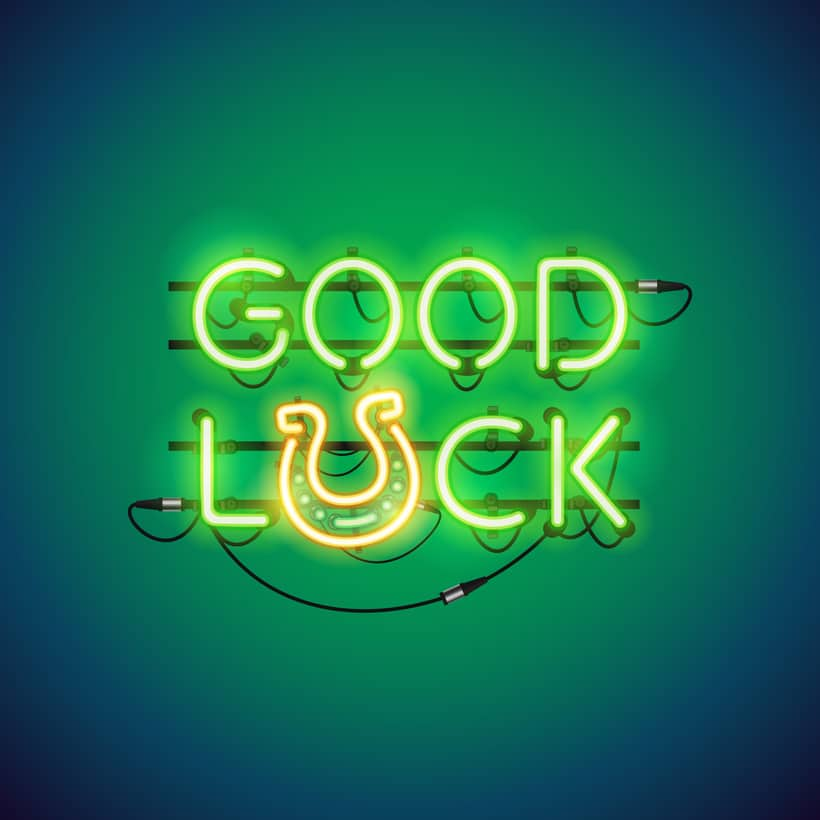 how to say good luck in french