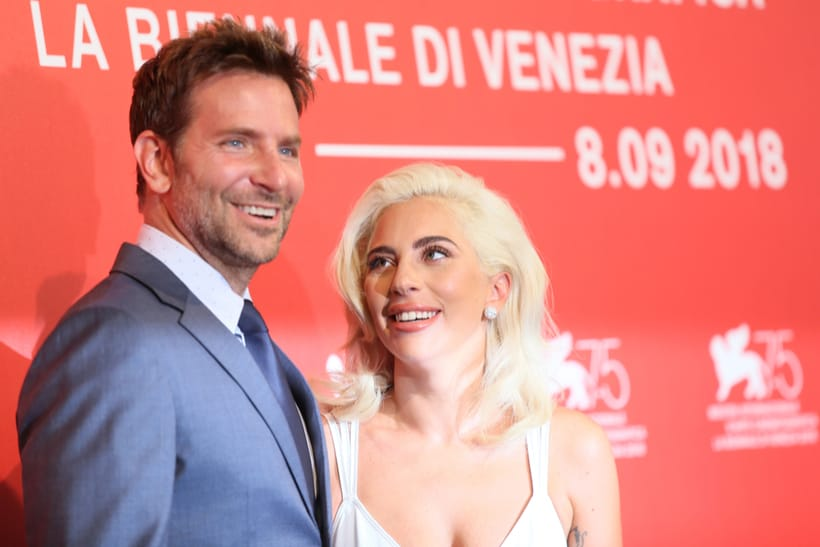 bradley cooper french with lady gaga