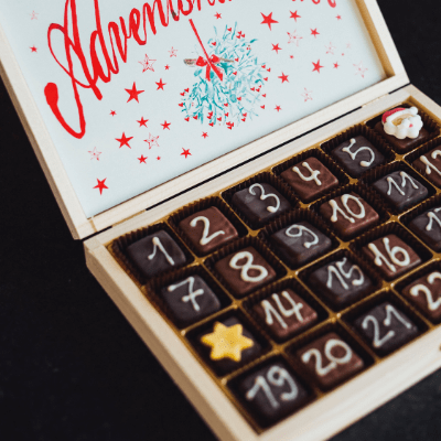 Christmas Advent calendar ideas with French flair