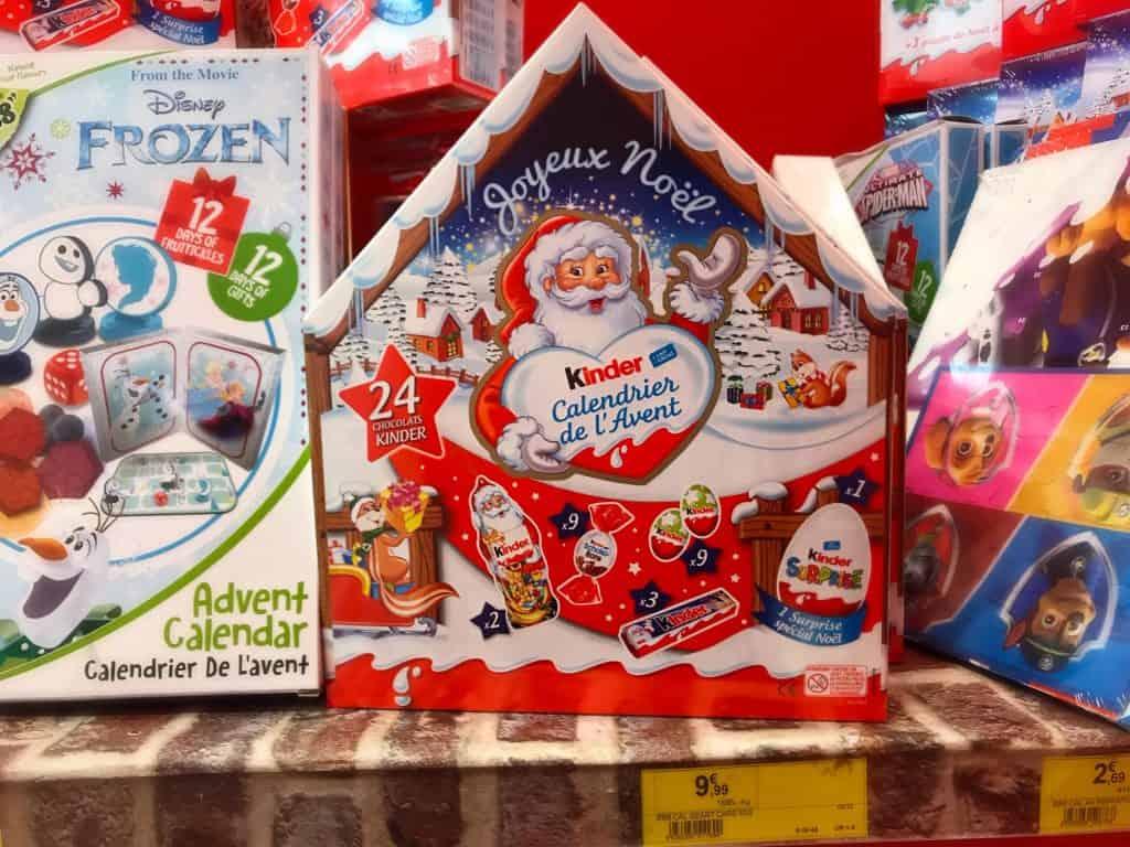 Christmas Advent calendar ideas with French flair