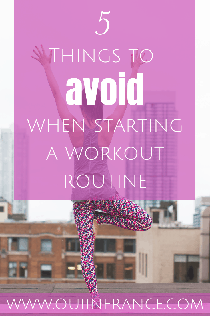 beginner exercise tips