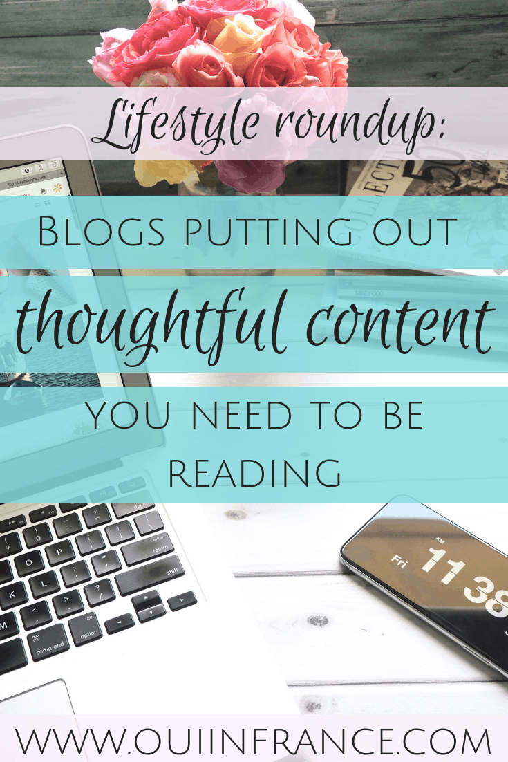 Blogs putting out thoughtful contentthat you need to be reading