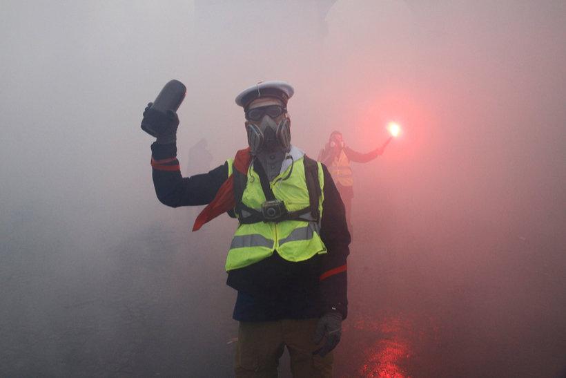 paris gilets jaunes riots
