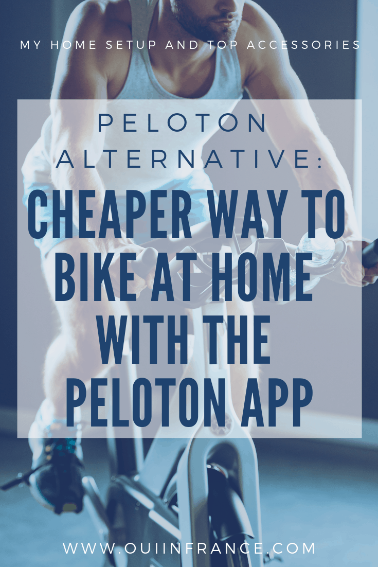 cheaper PELOTON ALTERNATIVe bike home setup