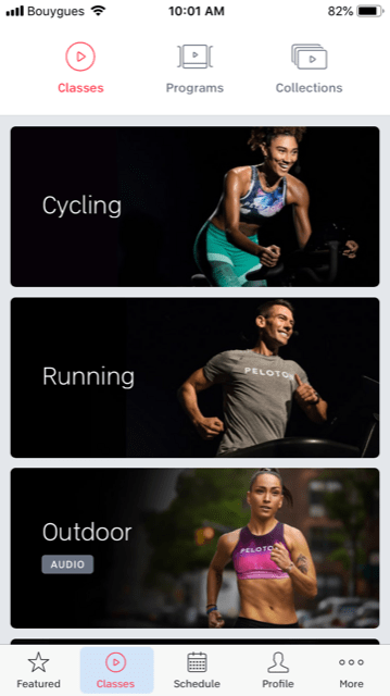 peloton app classes cost