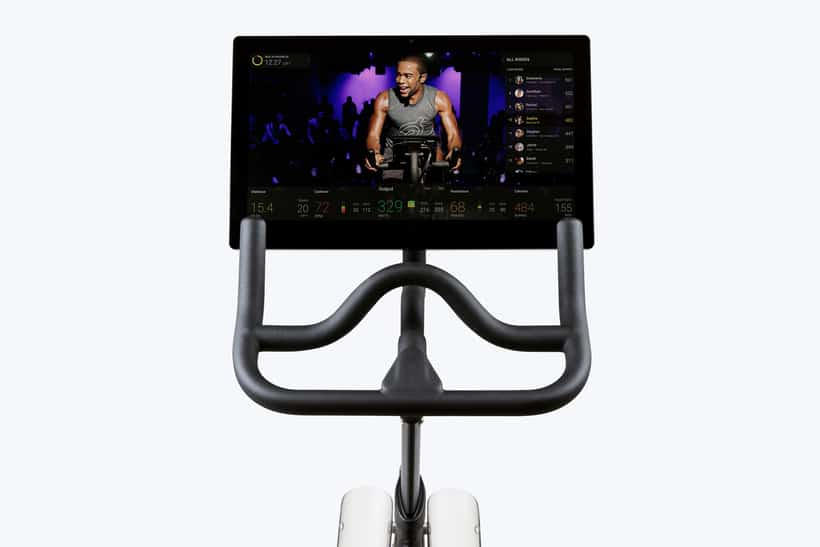 peloton bike screen metrics