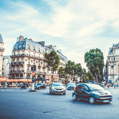 When does life abroad in France just become regular life?