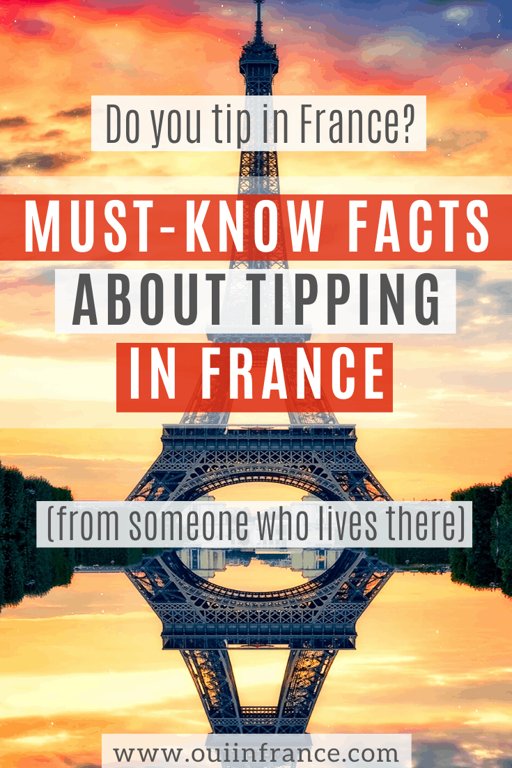 tipping in france do you tip in paris restaurants