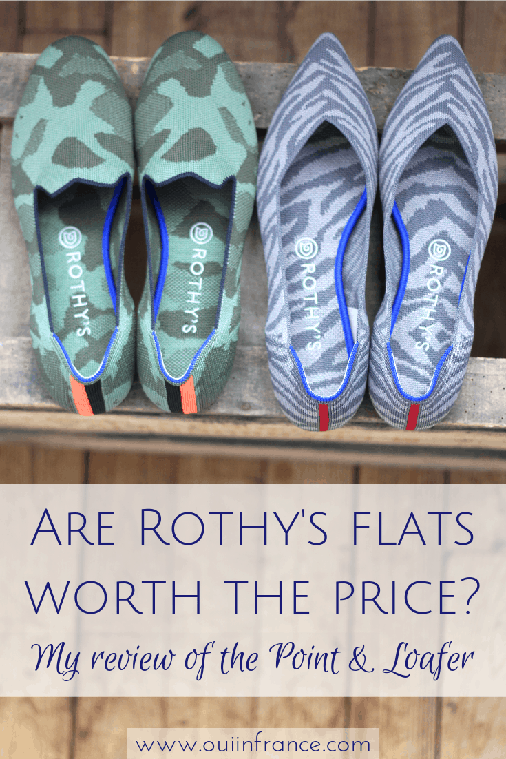 Are Rothy's flats worth the price