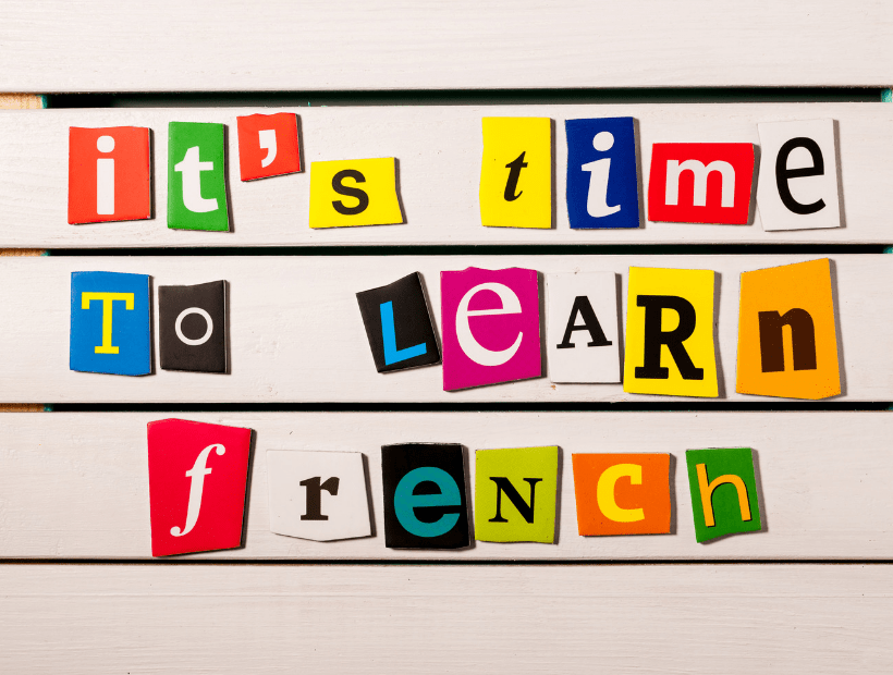 basic french grammar different in english