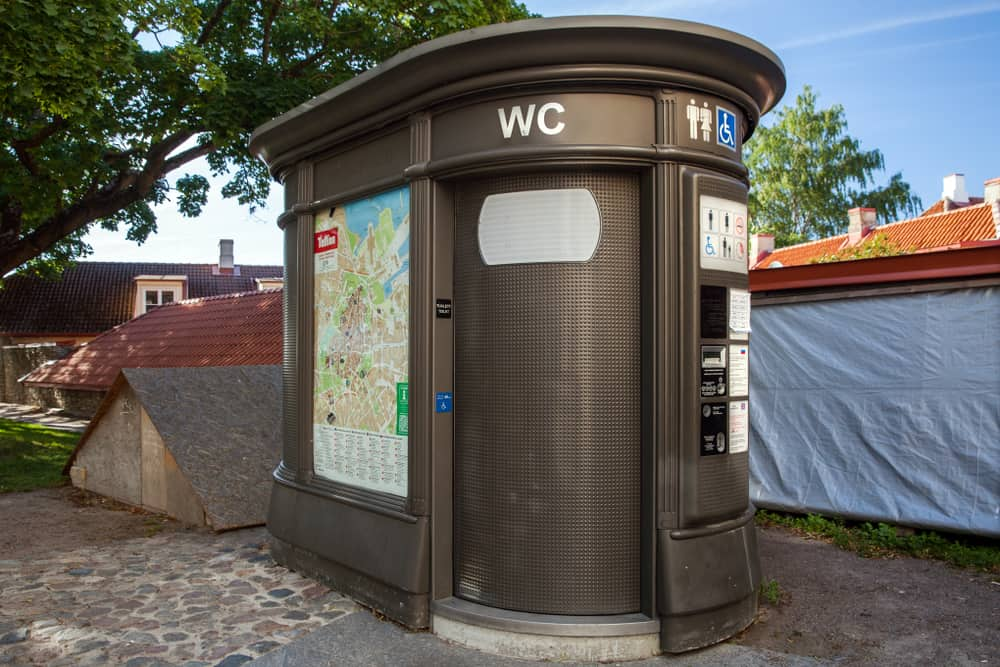 public toilets aren't free in france