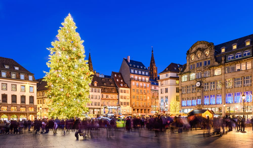 best french christmas markets strasbourg france