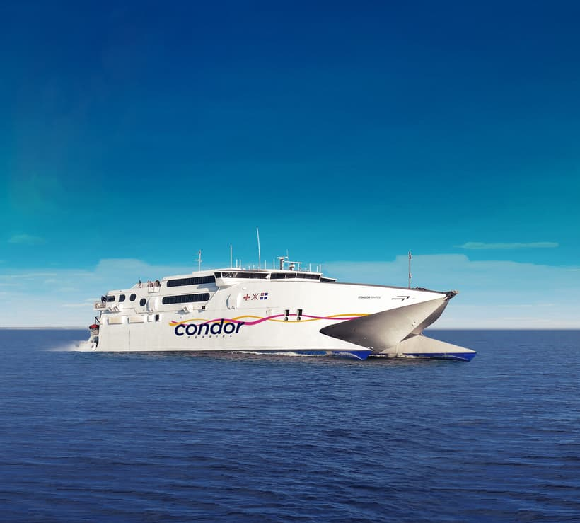 condor ferries france uk with dog