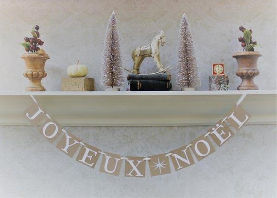 Joyeux Noel Banner