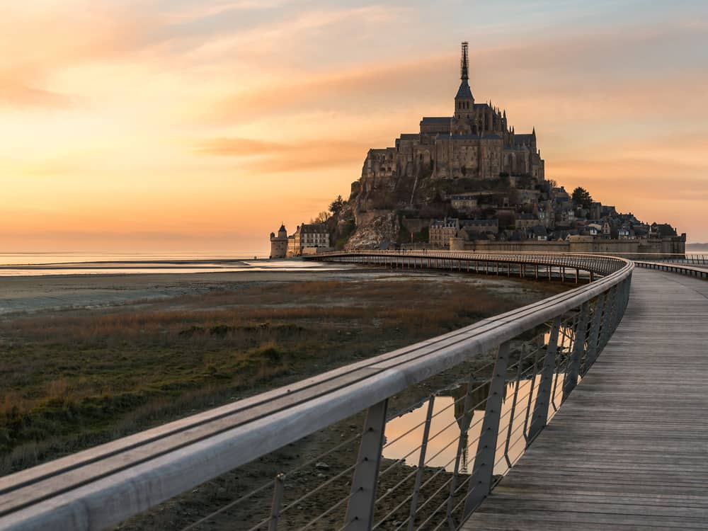 mont st michel day trips from paris