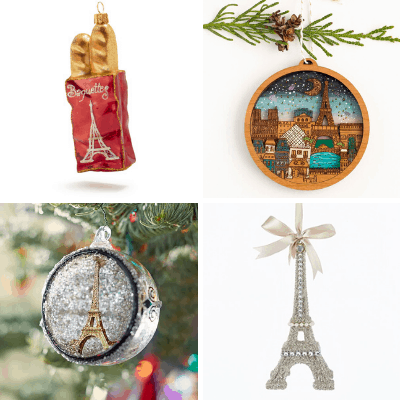 My favorite French Christmas decorations and ornaments for Francophiles