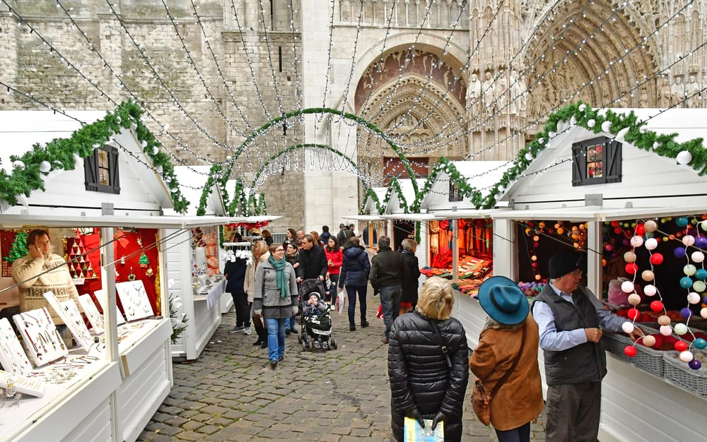 rouen french christmas markets