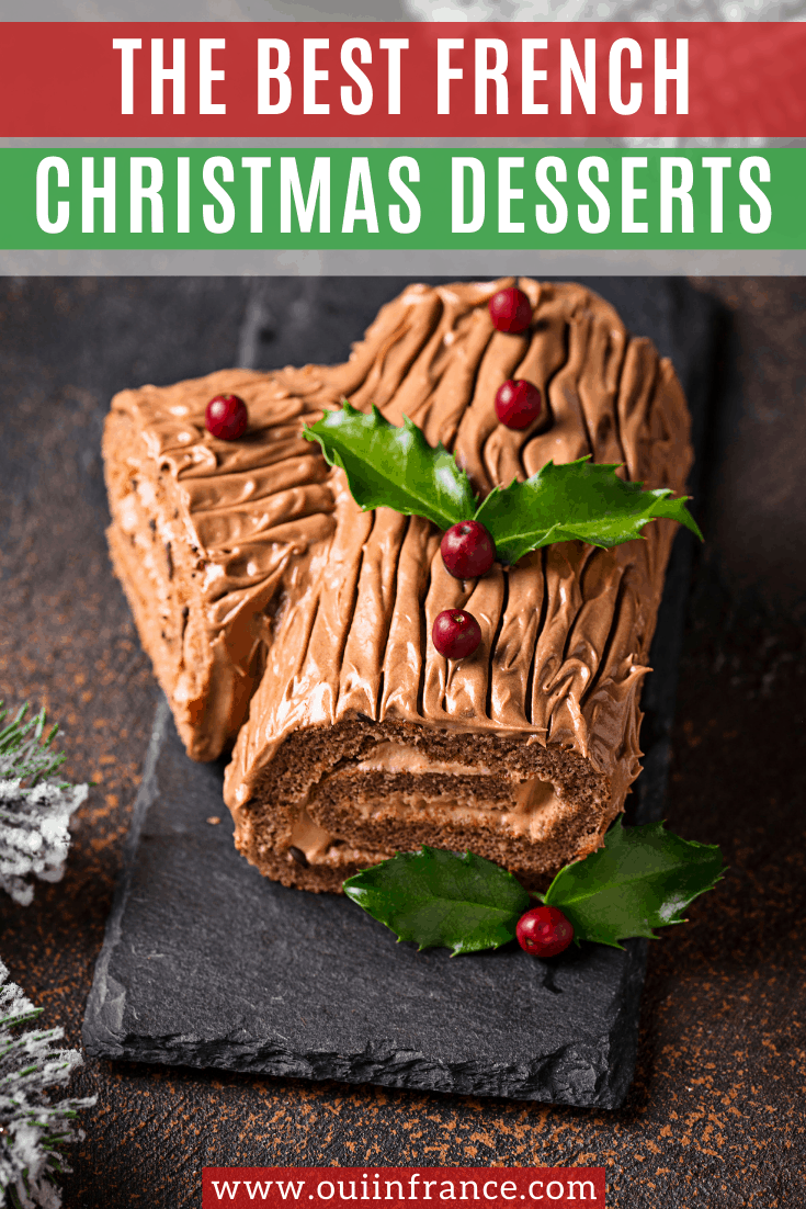 best French Christmas desserts