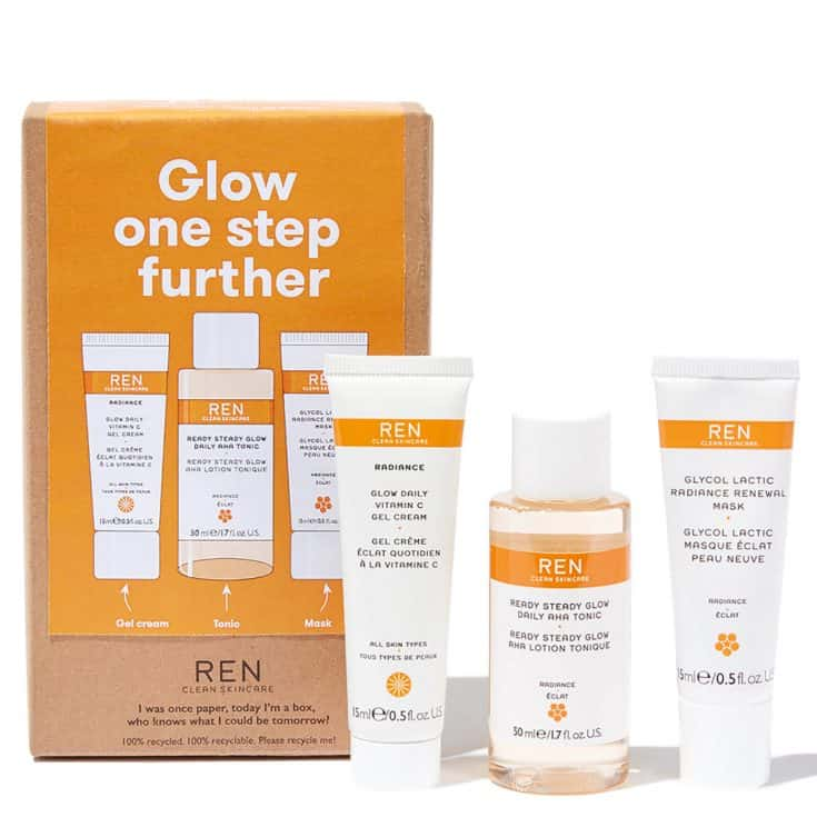 Ren Beauty Glow One Step Further Kit