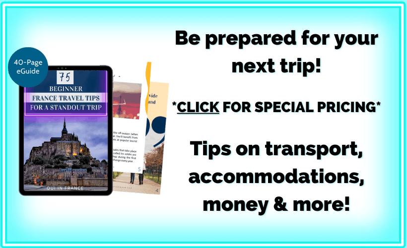 france travel tips ebook