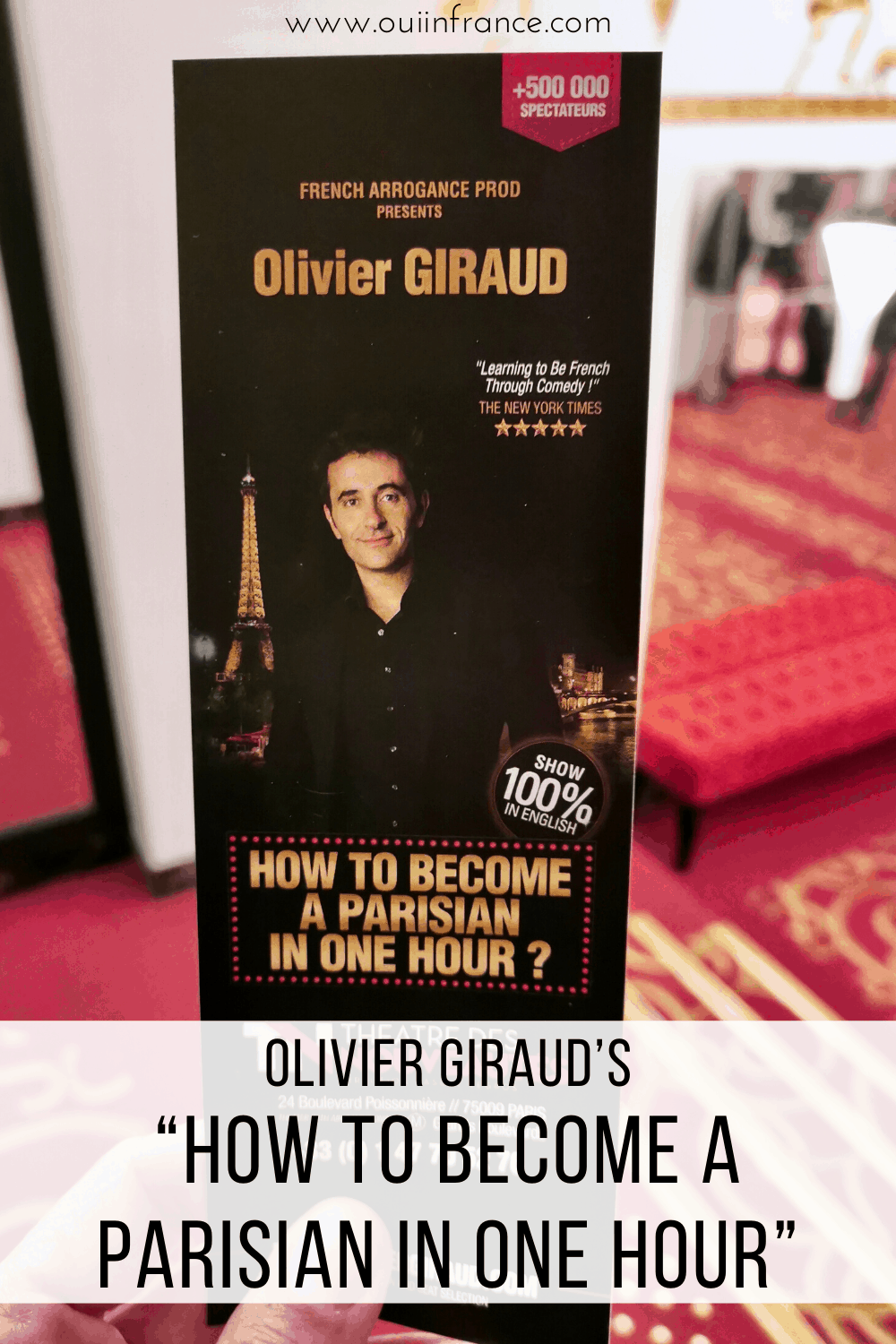 "Olivier Giraud's ""How to Become A Parisian in One Hour"""