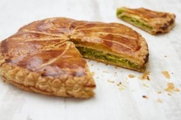 Galette des rois with pistachio recipe