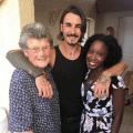 french grandma meets a black person